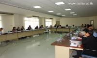 """Cooperative Academic Institute and connections held an operative meeting in topic """"Is the Cooperative Bank Important?"""""""