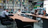 Researchers from Tractus Asia Ltd., interviewed the director of Cooperative Academic Institute about Development of Value Chain