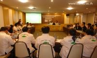 "Training session of ""Enhancing the Capacity of Stakeholders to Improve the Tilapia Value Chain in Thailand Curriculum"""